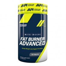 API Fat Burner Advance, Unflavored, 120 Tablets
