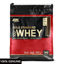 Optimum Nutrition Gold Standard 100% Whey, Double Rich Chocolate, 10lbs