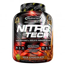MuscleTech Nitro Tech, Milk Chocolate, 4lbs
