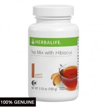 Herbalife Tea Mix, Peach and Hibiscus, 60 Servings