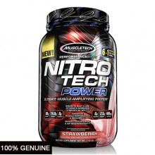 MuscleTech Nitro Tech Power, Strawberry, 2lbs