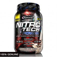 MuscleTech Nitro Tech Power, Cookies Cream, 2lbs