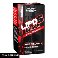 Nutrex Research Lipo 6 Black Ultra Concentrate, Unflavored, 60 Servings