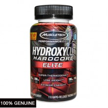 MuscleTech Hydroxycut Hardcore Elite, Unflavored, 55 Servings