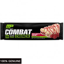 MusclePharm Combat Crunch Bars, White Chocolate Raspberry, 1 bar