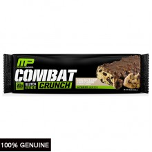 MusclePharm Combat Crunch Bars, Chocolate Chip Cookie Dough, 1 bar