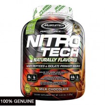 MuscleTech Nitro Tech Naturally Flavored, 4lbs