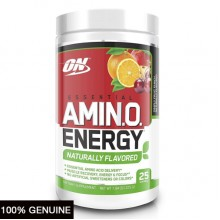 Optimum Nutrition Essential Amino Energy Naturally Flavored, 25 Servings